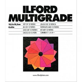 Ilford Multigrade Filtersatz 15,2x15,2cm