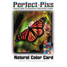Perfect-Pixs Natural Color Card