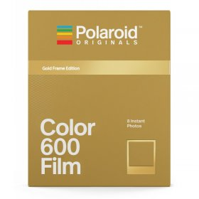 Polaroid 600 color Sofortbildfilm Gold Frame Edition