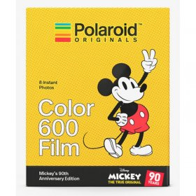 Aktion Polaroid 600 color Sofortbildfilm Mickey`s 90th Anniversary Edition