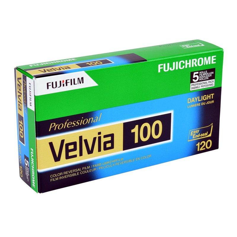 fuji velvia 100 120 5er pack 4250 � www