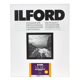 Ilford Multigrade RC deluxe 25M / 10,5x14,8 / 100 Blatt / satin